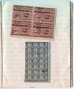 ration cards, Austria 1950